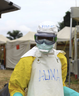 Congo Ebola Isolation