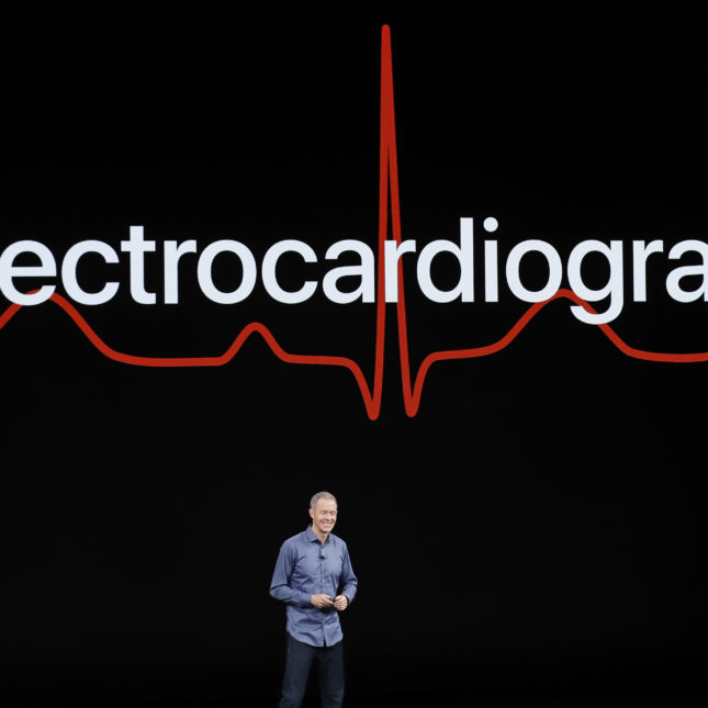 Apple Showcase Electrocardiogram