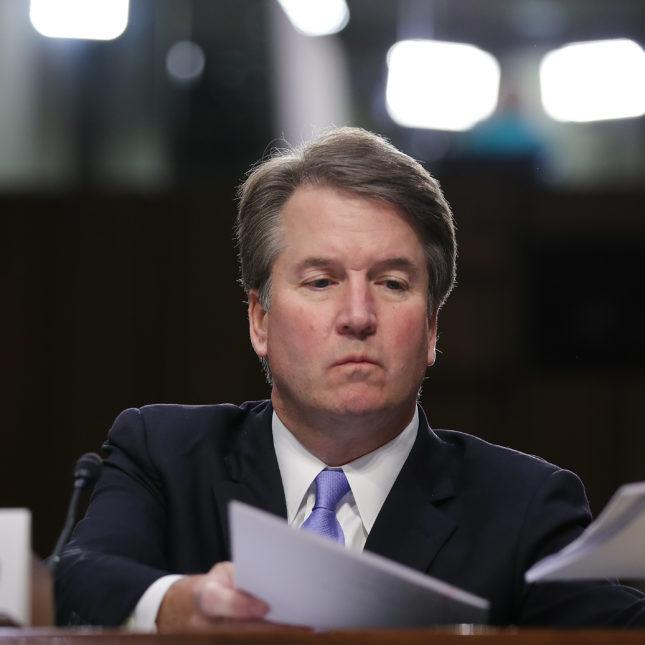 Senate Holds Confirmation Hearing For Brett Kavanaugh