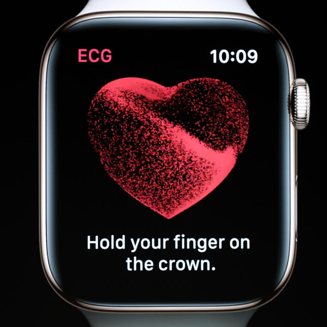 Here's the data behind the new Apple Watch EKG app - STAT