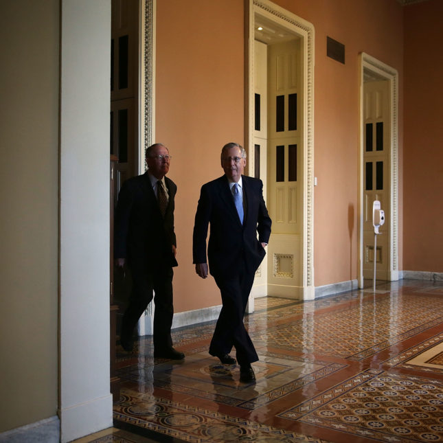Mitch McConnell and Lamar Alexander
