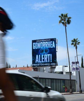 Gonorrhea billboard