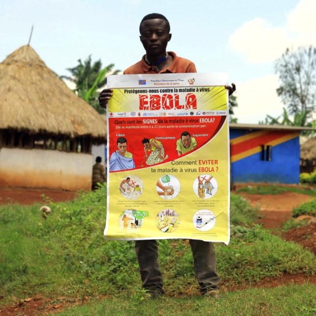 Congo Ebola - information leaflet