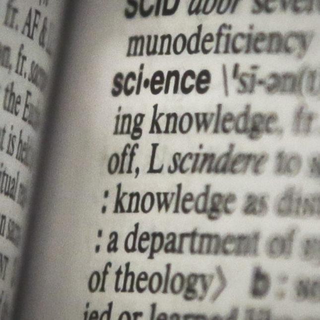 Merriam Webster's Science - large