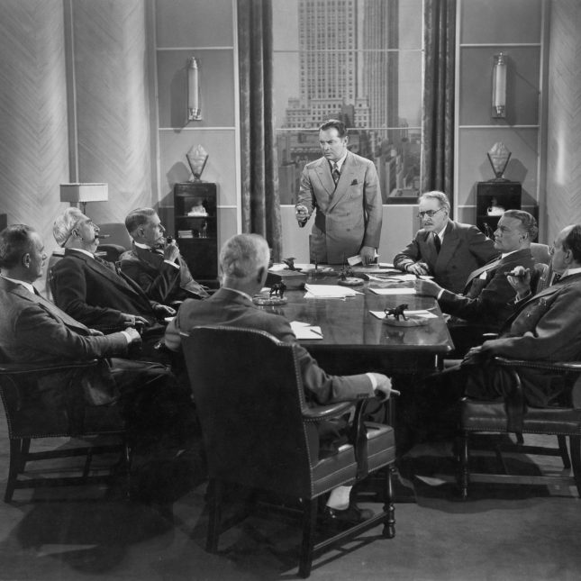 Board room of yore