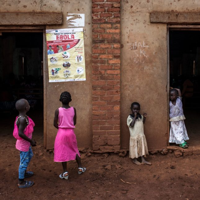 Children Ebola Beni