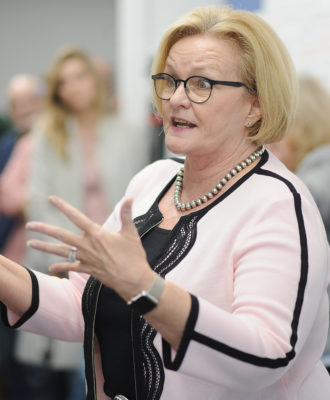 Sen. McCaskill Discusses Health Care