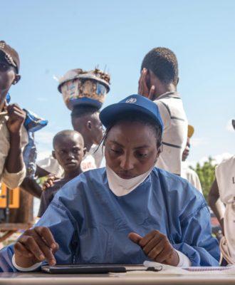 DRC Ebola vaccination