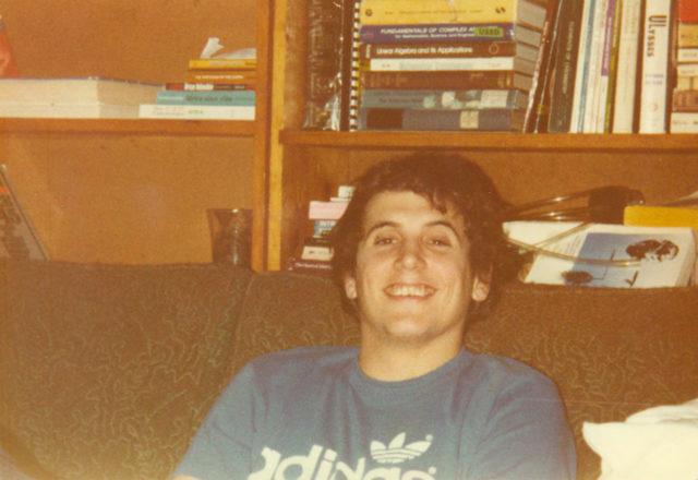 Sophomore year Kurt Eichenwald