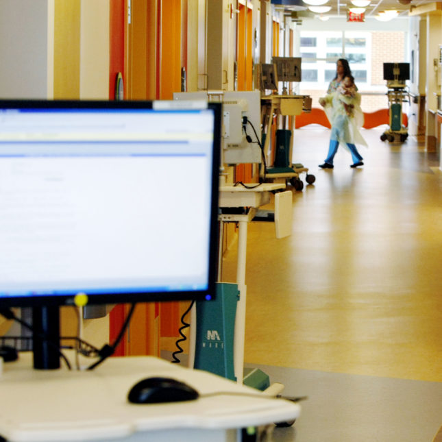 Hospital computers