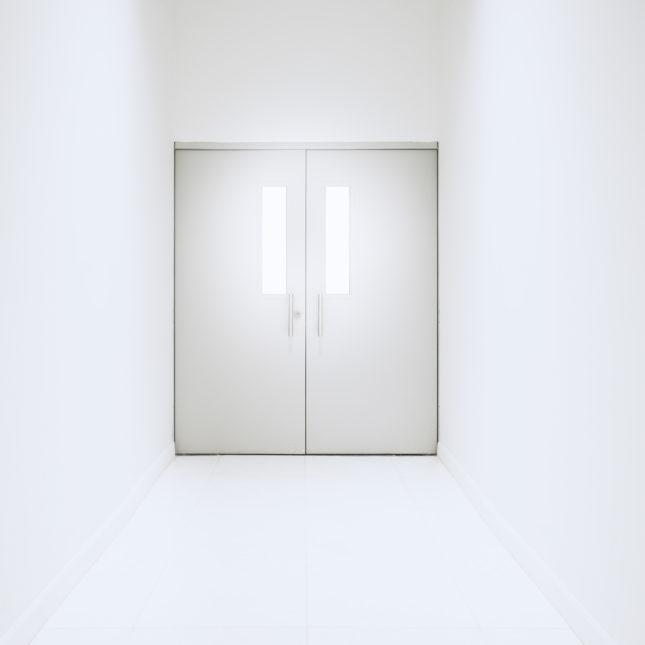 Laboratory doors
