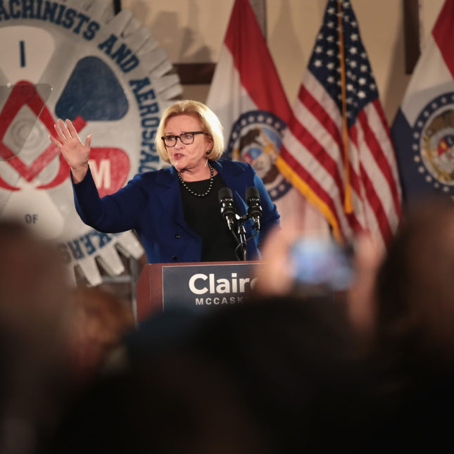 Claire McCaskill rally