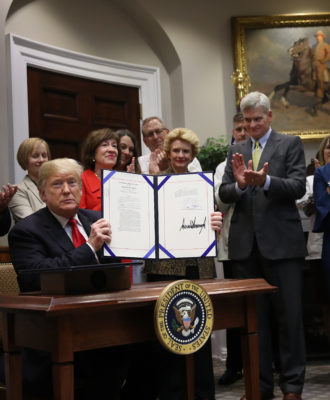 """President Trump Signs The """"Know The Lowest Price and The Patient's Right To Know"""" Acts"""