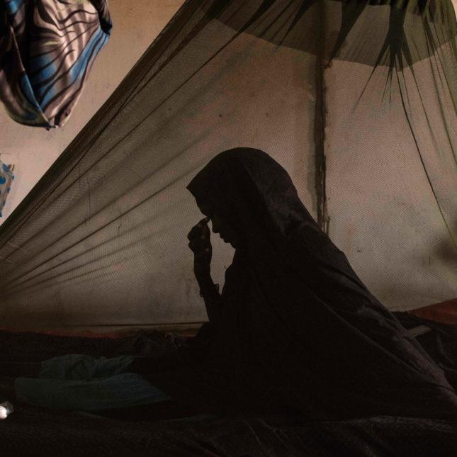 Tuberculosis patient in Somalia
