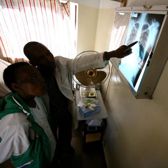 PEPFAR hospital in Kenya