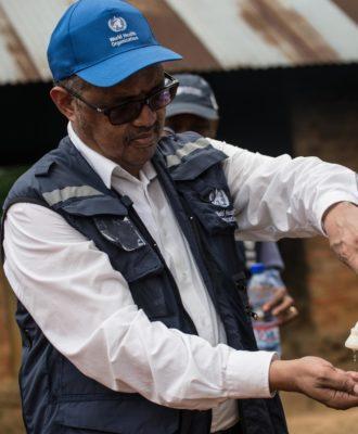 Tedros Adhanom Ghebreyesus - in Congo