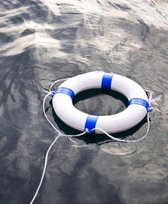 Lifesaver ocean