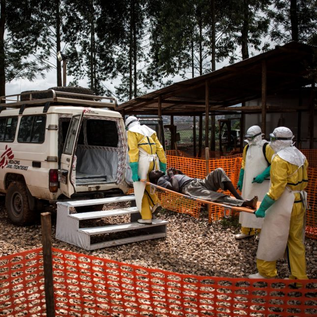Health workers - Ebola - DRC