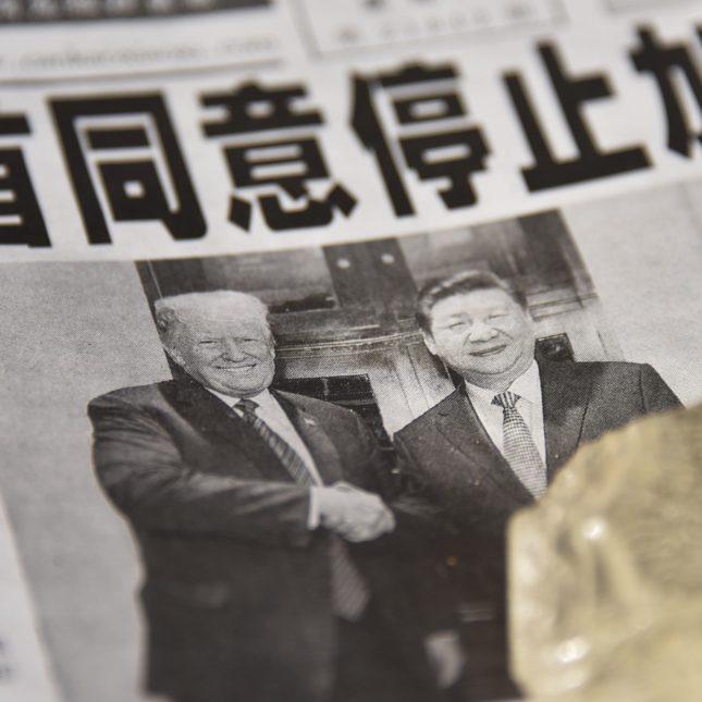 Donald Trump & Xi Jinping