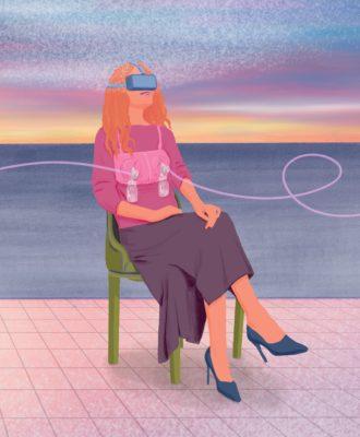 VR breastfeeding