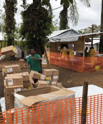 MSF Ebola Treatment Center