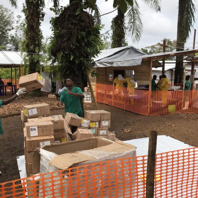 MSF Ebola Treatment Center