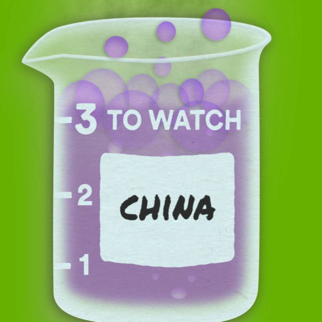 3 to Watch: China