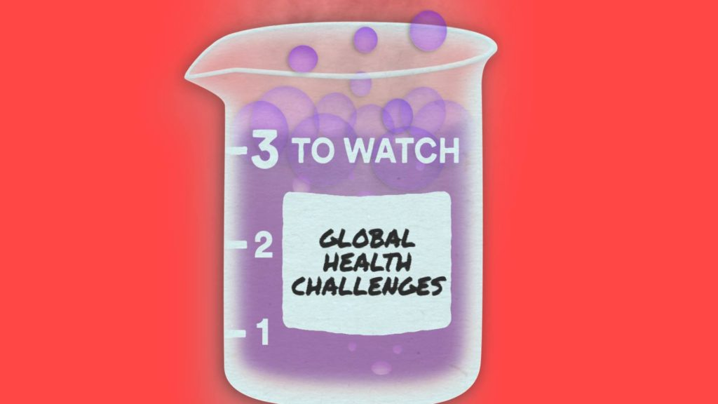 3 Global health challenges in 2019