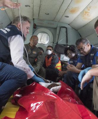 Ebola vaccination team