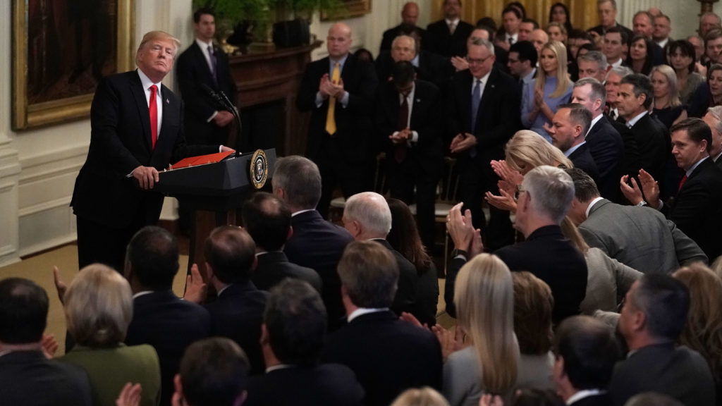 Trump administration unveils drug strategy document after ...