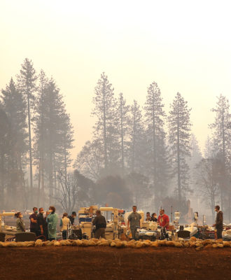 Paradise Camp Fire - hospital evac