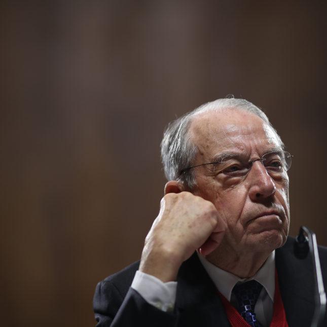 Sen. Chuck Grassley (R-IA)