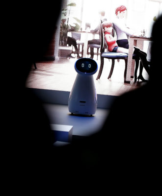 Samsung Bot Care robot