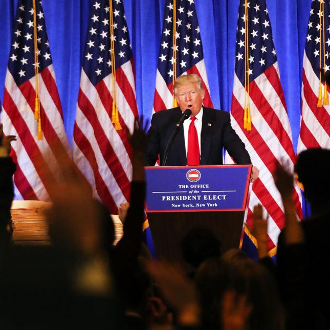 Trump Jan 2017 presser