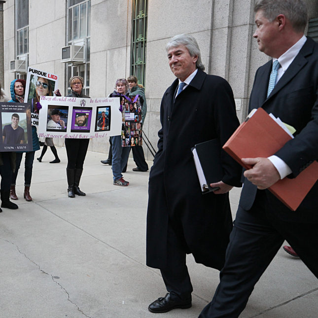 Pharma Court Protest - Boston