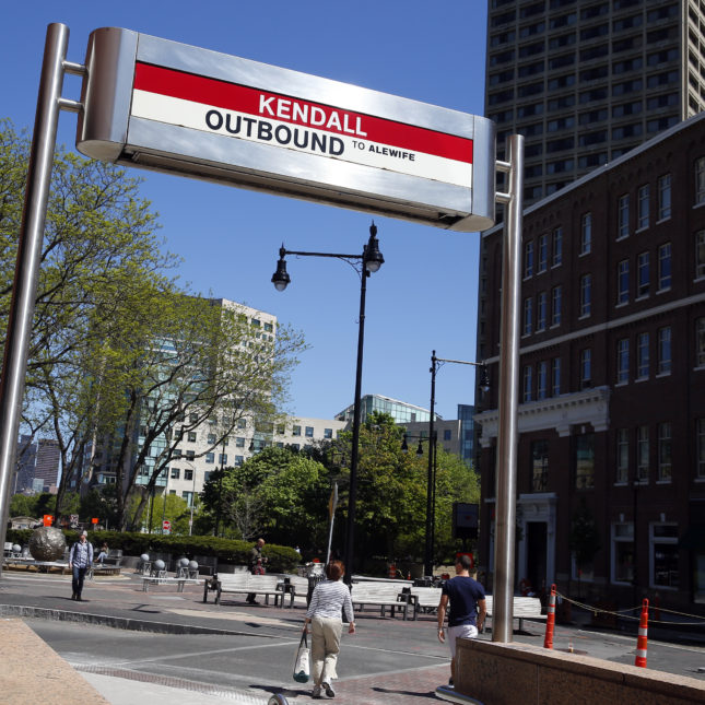 Kendall square outbound