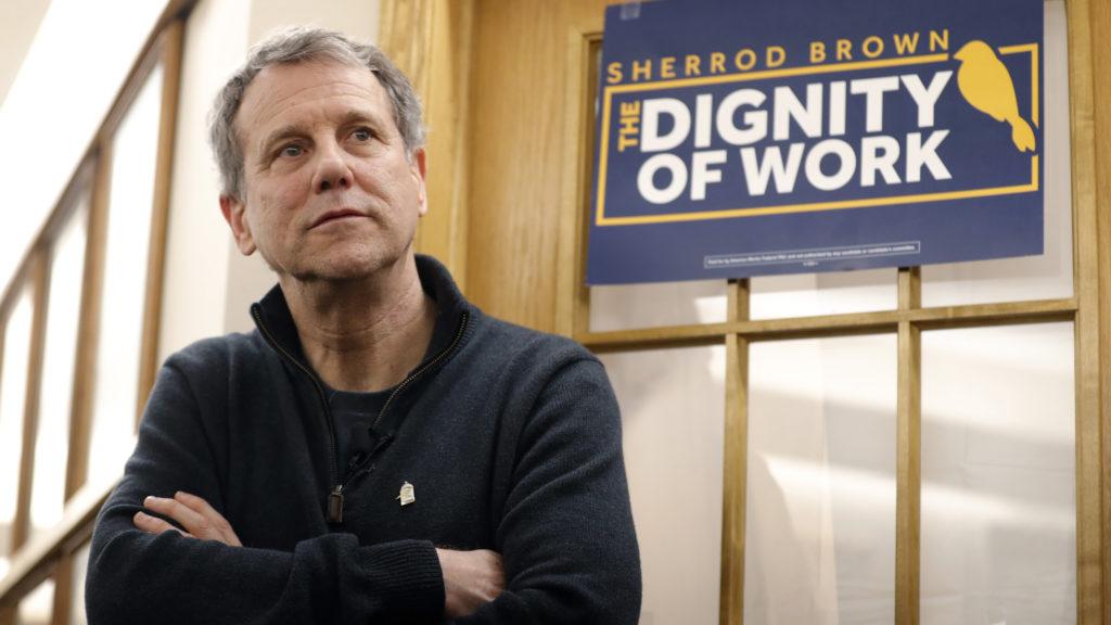 Potential 2020 hopeful Sherrod Brown backs Medicare drug negotiation bill