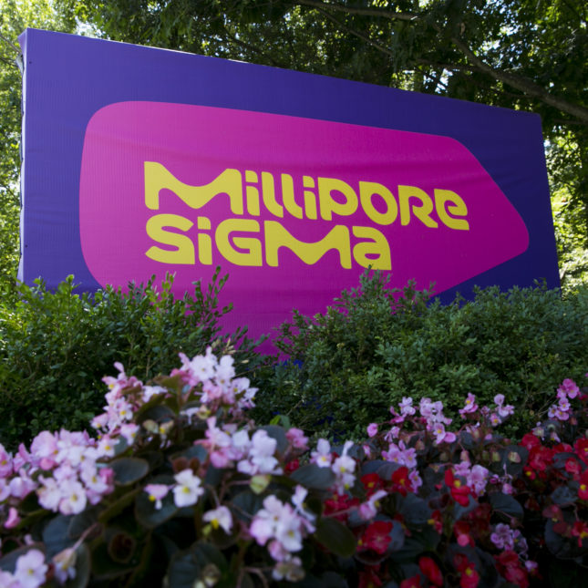MilliporeSigma sign