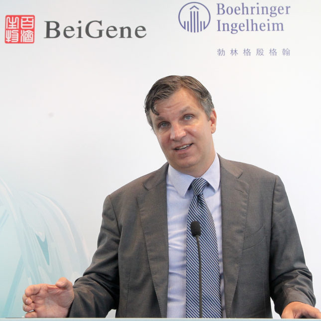 For BeiGene, Bristol-Celgene deal is poised to have big