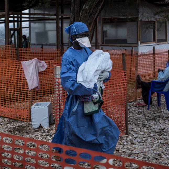 Congo ebola - infant