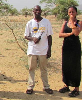 Ngozi Erondu in Kenya