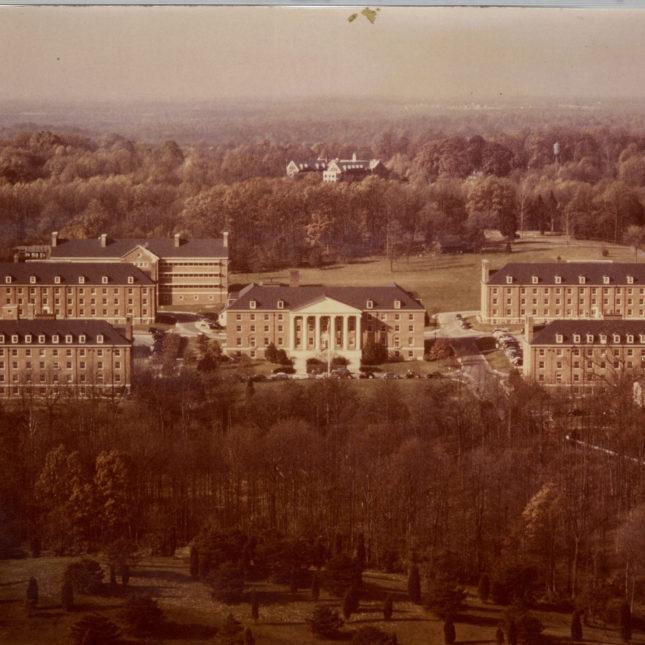 NIH campus, circa 1949