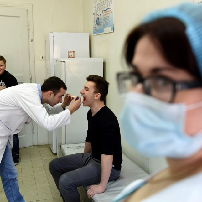 Measles Ukraine