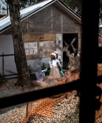 Congo - Ebola treatment centre - March 2019