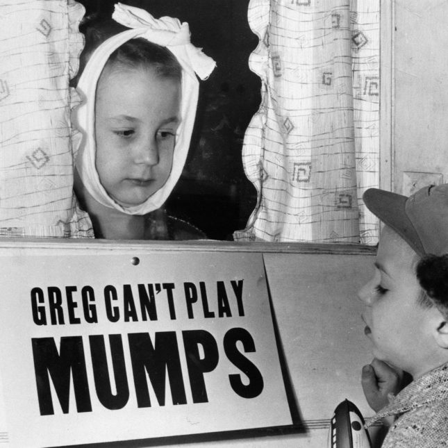 Greg can't play mumps