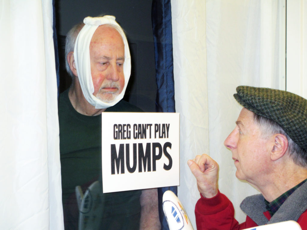 What was it like when mumps was rampant? Ask Greg