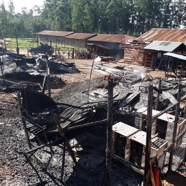 Katwa ETC inoperable after violent attack