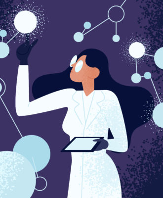 Women in science illo