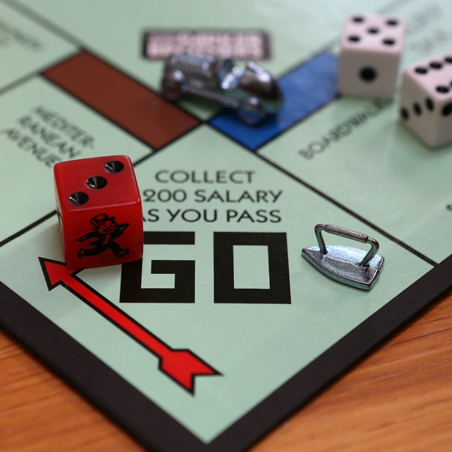 Monopoly collect salary