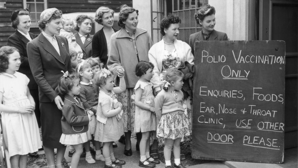 What my polio-stricken mother would tell parents today about the importance of immunization
